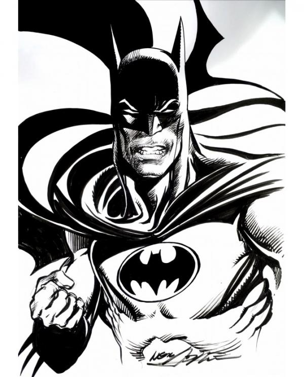 BATMAN BY NEAL ADAMS,  SKETCH ORIGINAL