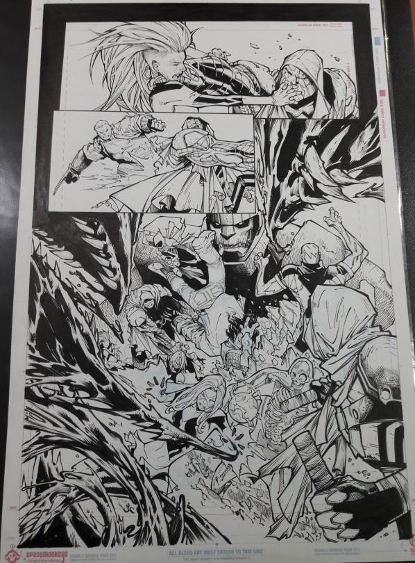EXTRAORDINARY X-MEN 10, PAGE 1 BY HUMBERTO RAMOS AND VICTOR OLAZABA