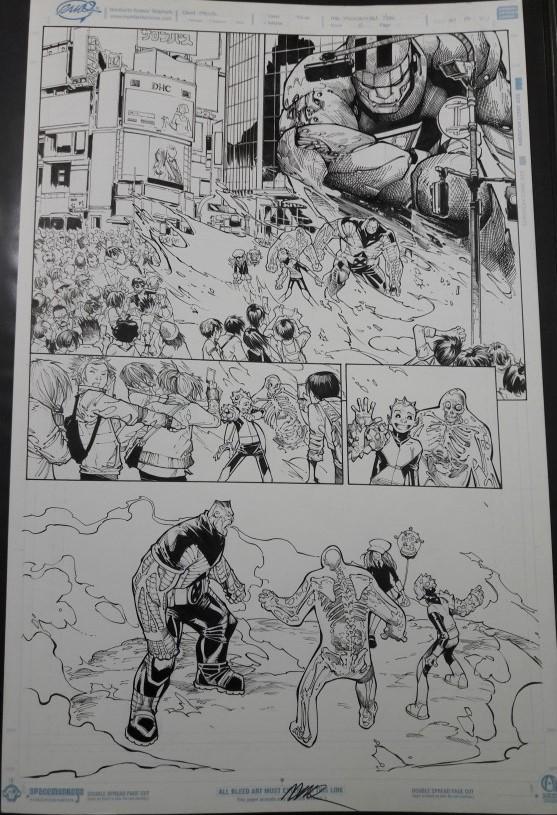EXTRAORDINARY X-MEN 8, PAGE 7 BY HUMBERTO RAMOS AND VICTOR OLAZABA