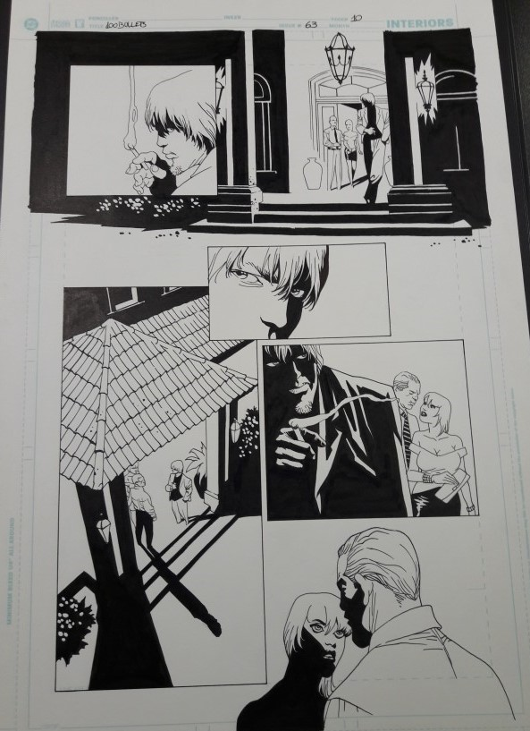 100 BULLETS 63, PAGE 10 BY EDUARDO RISSO