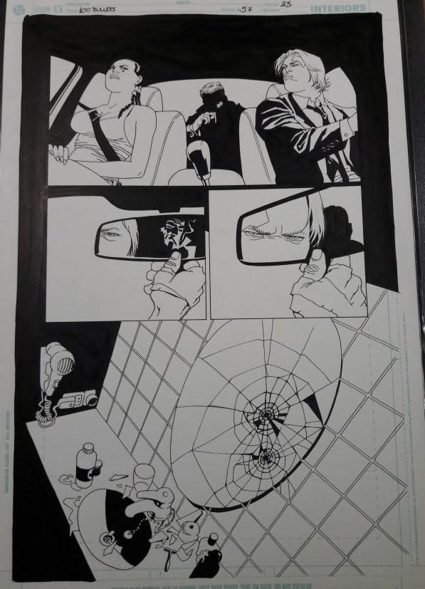 100 BULLETS 57, PAGE 23 BY EDUARDO RISSO