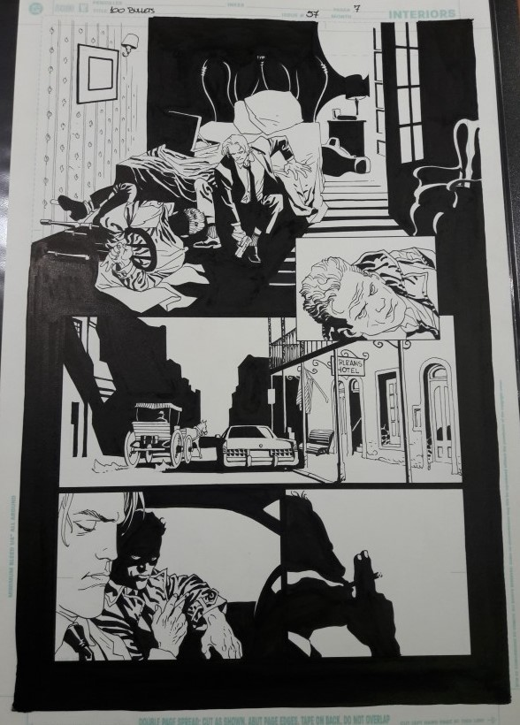 100 BULLETS 57, PAGE 7 BY EDUARDO RISSO