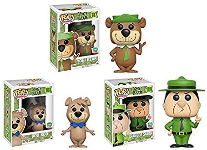 Yogi Bear 187 + Boo Boo 188 + Ranger Smith 189