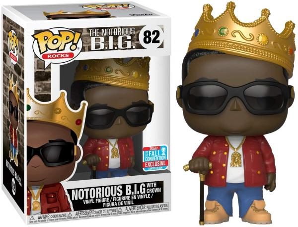 Notorious B.I.G. With Crown 82