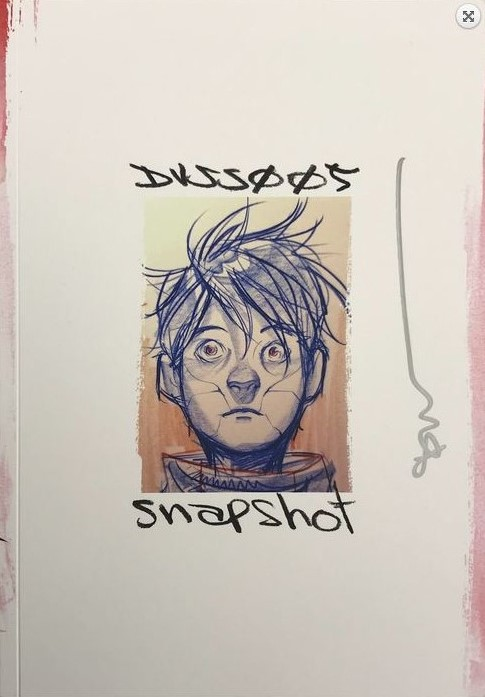 DUSTIN NGUYEN SKETCHBOOK 2019 SIGNED