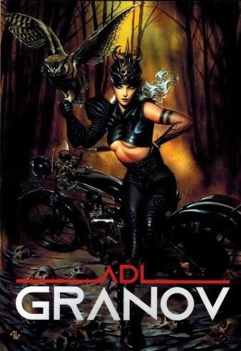 ADI GRANOV SKETCHBOOK #6 SIGNED