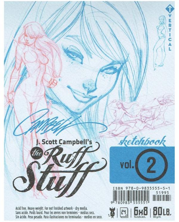 J. SCOTT CAMPBELL'S THE RUFF STUFF SKETCHBOOK VOL. 2