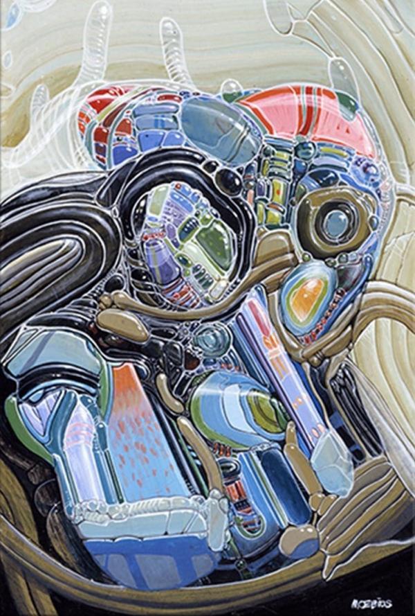 MOEBIUS Abstrait de l'Air