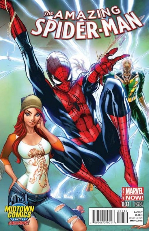 AMAZING SPIDER-MAN #1 CAMPBELL VAR