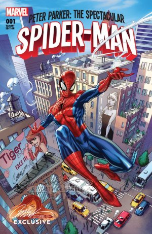 PETER PARKER SPECTACULAR SPIDER-MAN #1 CAMPBELL EXCLUSIVE A