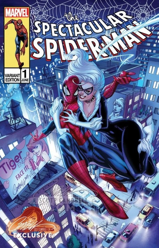PETER PARKER SPECTACULAR SPIDER-MAN #1 CAMPBELL EXCLUSIVE C