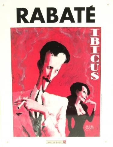 PLAQUE EMAILLÉE - IBICUS DE RABATÉ