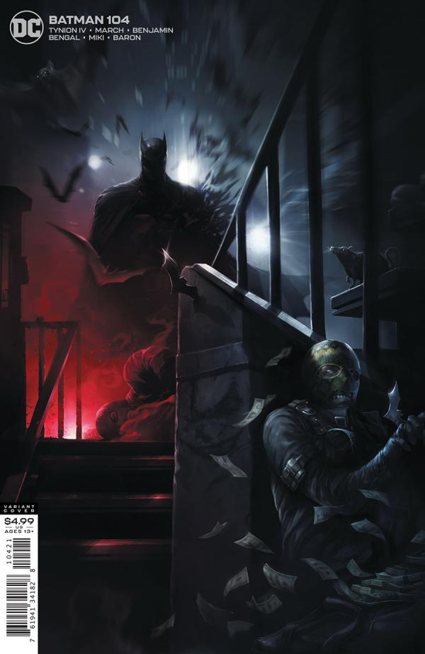 BATMAN #104 FRANCESCO MATTINA VAR