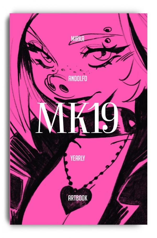 MIRKA ANDOLFO YEARLY ARTBOOK 2019 SIGNED