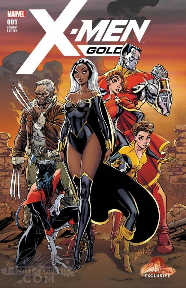 X-MEN GOLD #1 CAMPBELL EXCLUSIVE A