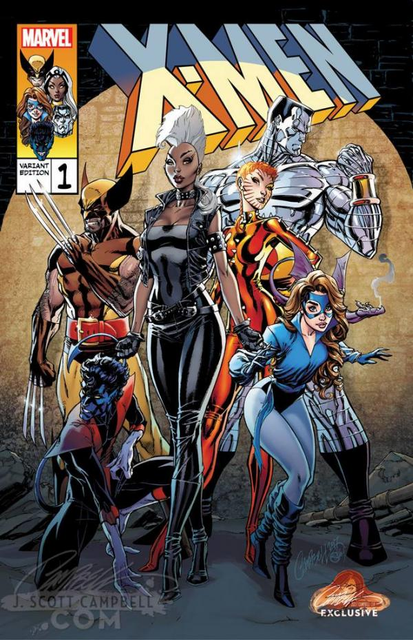 X-MEN GOLD #1 CAMPBELL EXCLUSIVE B