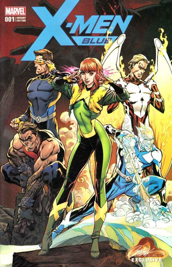 X-MEN BLUE #1 CAMPBELL EXCLUSIVE A