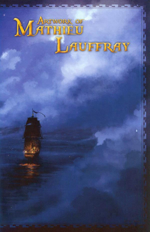 ARTWORK OF MATHIEU LAUFFRAY SIGNED