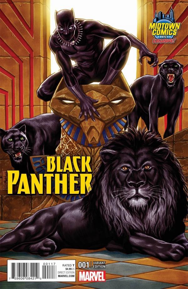 BLACK PANTHER #1 MARK BROOKS VARIANT