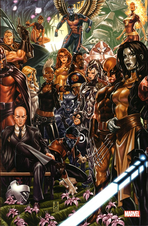 HOUSE OF X / POWERS OF X # 2 VARIANT PULP'S COMICS BY MARK BROOKS
