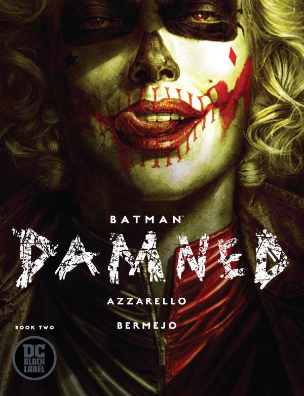 BATMAN DAMNED #2 SIGNED
