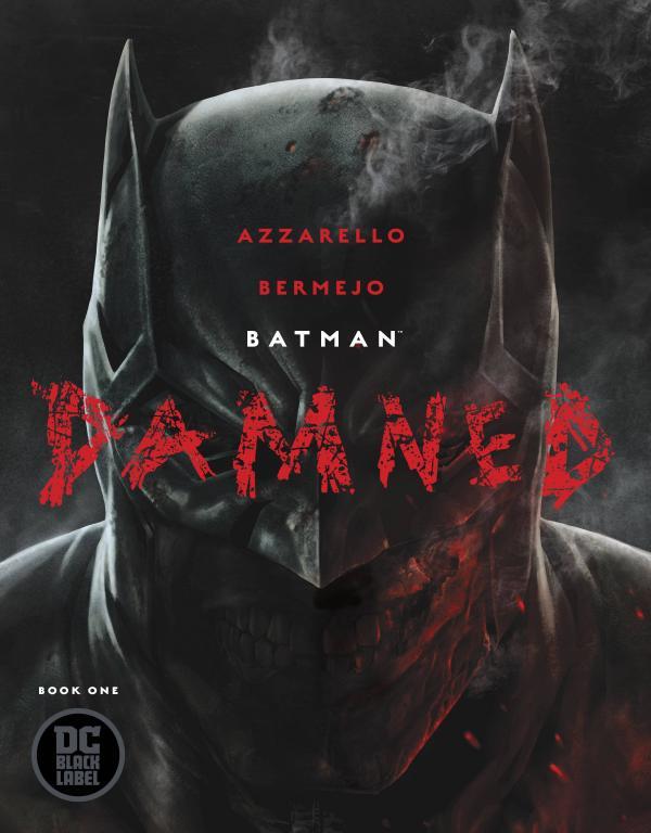 BATMAN DAMNED #1 SIGNED