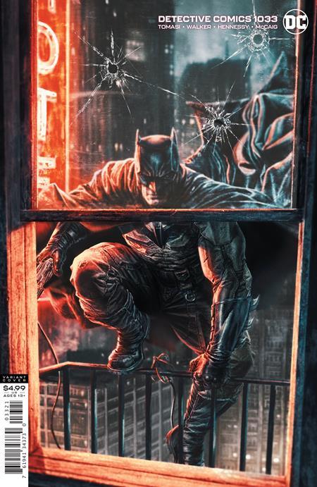 DETECTIVE COMICS #1033 LEE BERMEJO CARD STOCK VAR