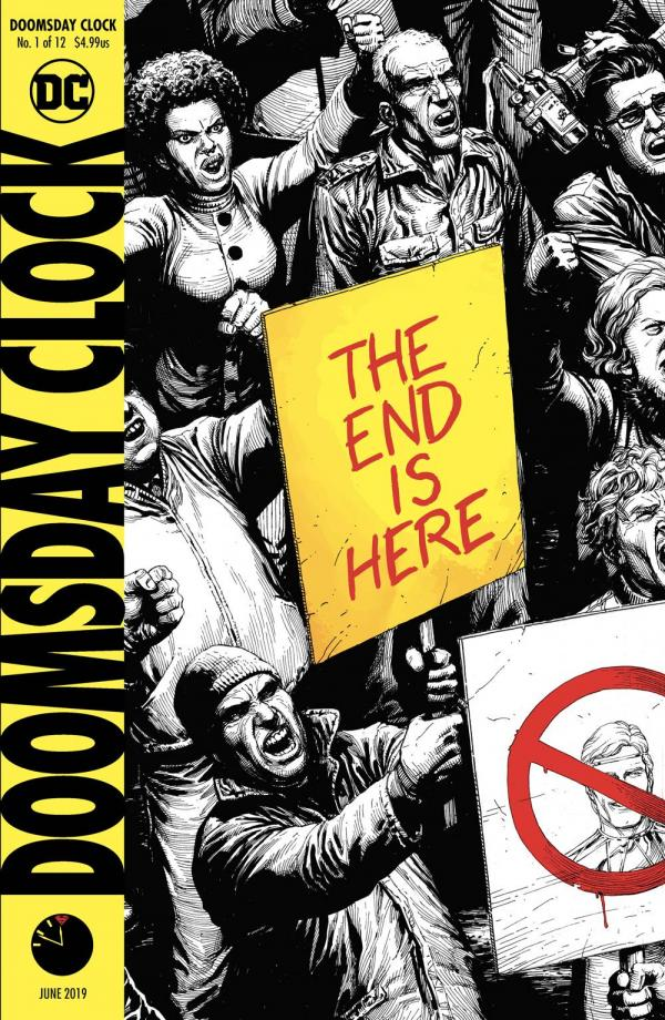 DOOMSDAY CLOCK #1 (OF 12) 5TH PTG