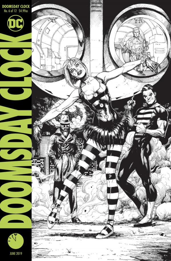 DOOMSDAY CLOCK #6 (OF 12) 2ND PTG