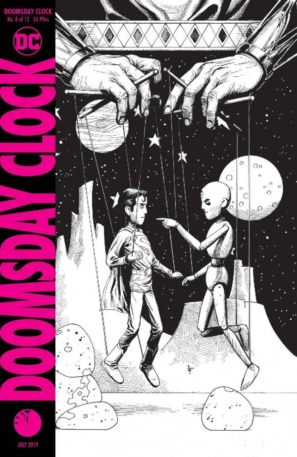 DOOMSDAY CLOCK #8 (OF 12) 2ND PTG