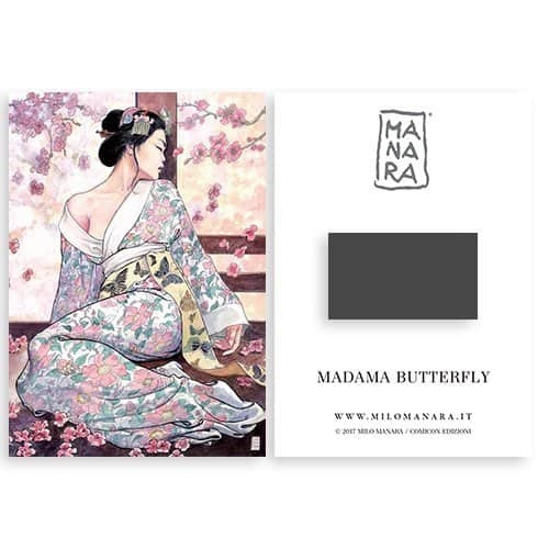 MAGNET MADAMA BUTTERFLY