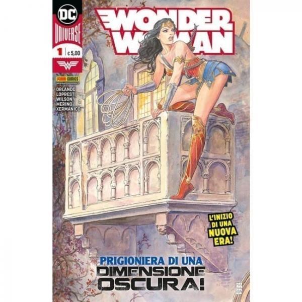 DC UNIVERSE WONDER WOMAN COVER MILO MANARA ED PANINI ITALIE