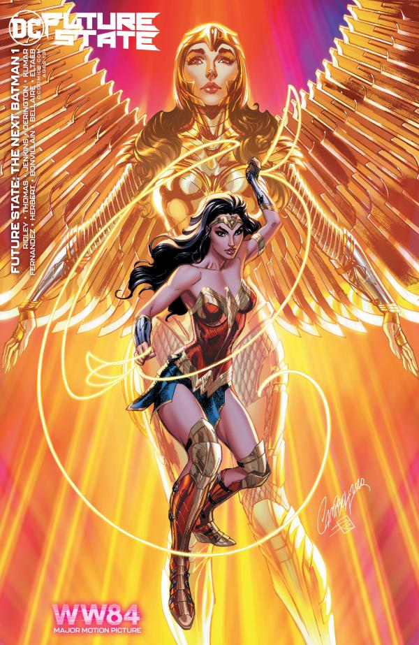 FUTURE STATE THE NEXT BATMAN #1 (OF 4) CVR D WONDER WOMAN 1984 J. SCOTT CAMPBELL CARD STOCK VAR