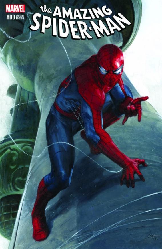 AMAZING SPIDER-MAN #800 LEG DELL'OTTO VAR
