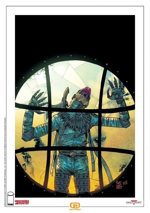 UNDISCOVERED COUNTRY T01 ex libris pulp's comics