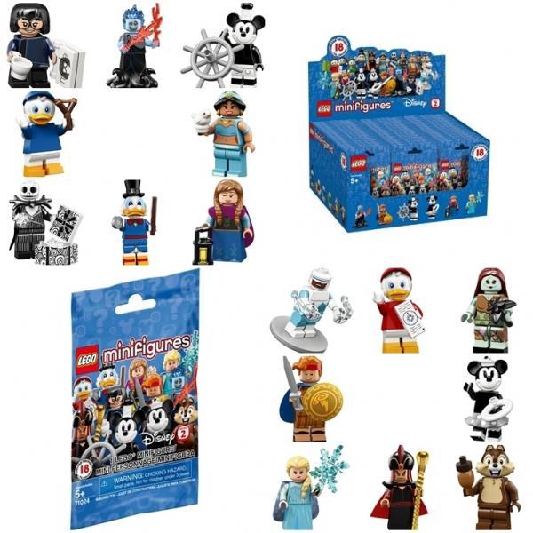 Minifigures Lego  Disney Séries 2