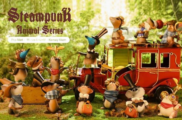 Steampunk Animal Series