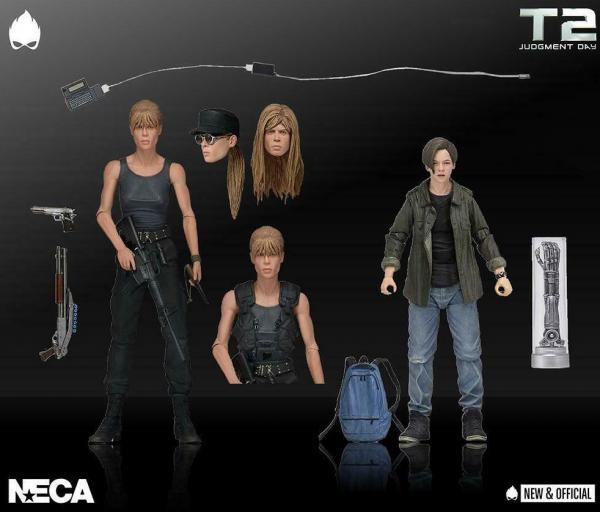 Terminator 2 Judgment Day Sarah & John Connor