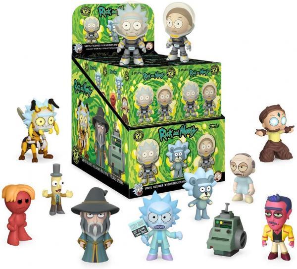 Figurine En Vinyle Rick And Morty Séries 2