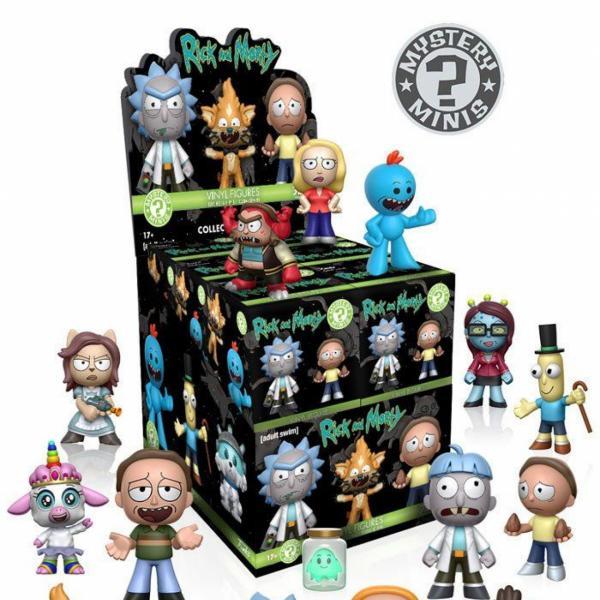 Figurine En Vinyle Rick And Morty Séries 1