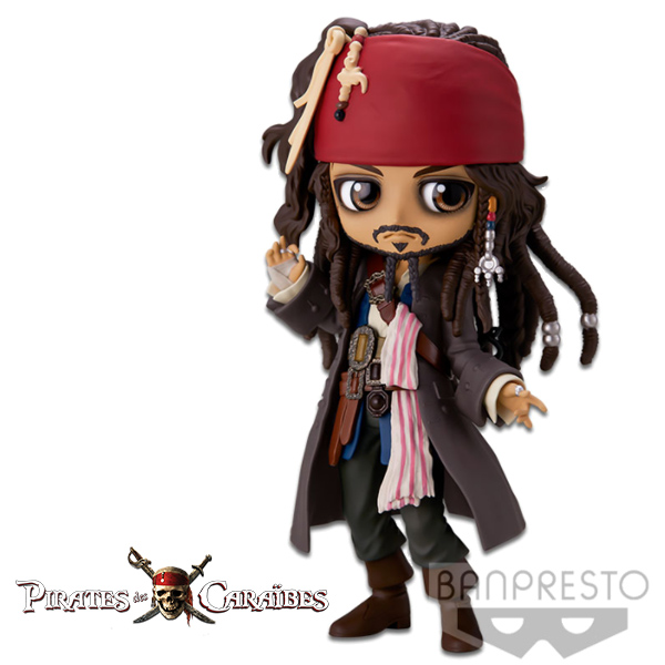 Disney Q Posket Jack Sparrow Ver A
