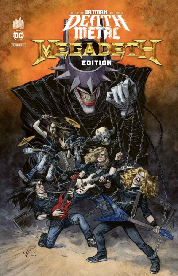 BATMAN DEATH METAL - EDITION S - BATMAN DEATH METAL #1 MEGADETH EDITION , TOME 1 / EDITION SPECIALE,