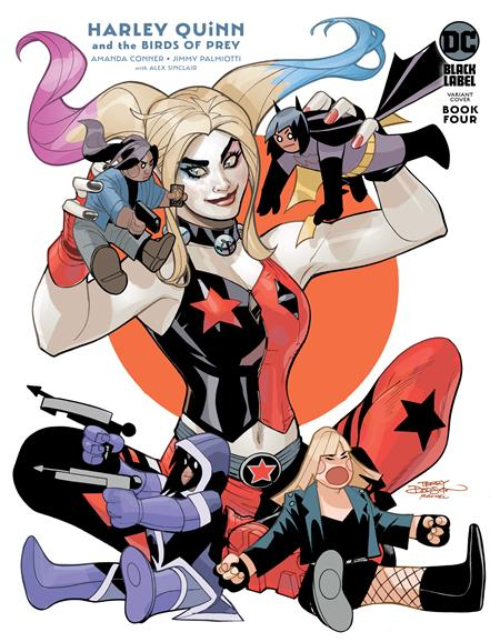 HARLEY QUINN AND THE BIRDS OF PREY #4 (OF 4) CVR B TERRY DODSON VAR