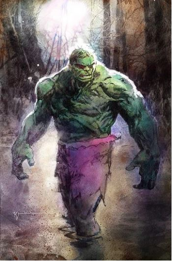 IMMORTAL HULK #20 BILL SIENKIEWICZ VAR SIGNED