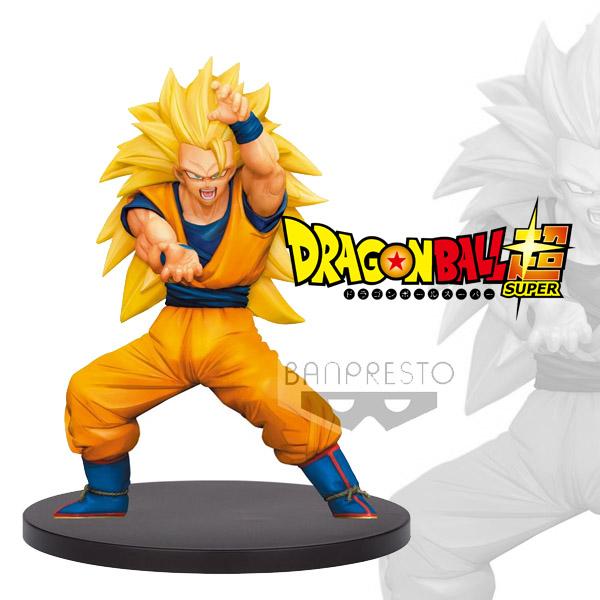 DBZ Chosenshiretsuden Vol 4 Super Saiyan 3 Son Goku 16cm