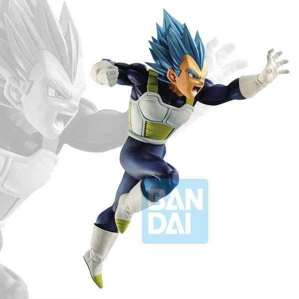 DBZ Battle Figure Oversea Limited Super Saiyan God Super Saiyan Vegeta 15,5cm