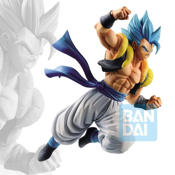 DBZ Battle Figure Oversea Limited Super Saiyan God Super Saiyan Gogeta 17cm