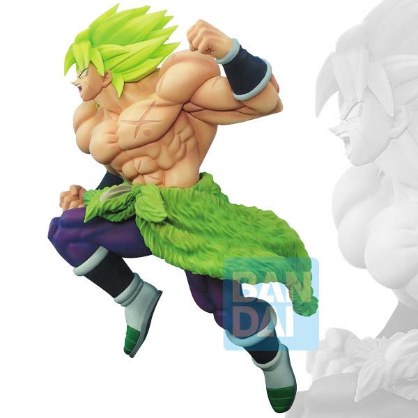 DBZ Battle Figure Oversea Limited Super Saiyan Broly Full Power 19cm