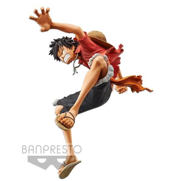 One Piece Stampede Movie King Of Artist Monkey D Luffy 15cm