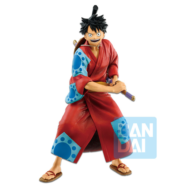 One Piece Japanese Style Figure Monkey D Luffy 25cm Overseas Limited